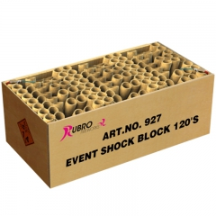 EVENT SHOCK BLOCK 120'S, PROF BOX